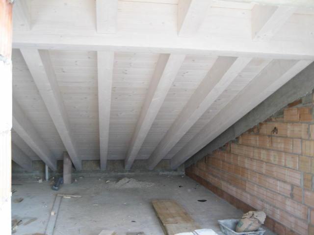 Lavori 2008 2009 eddi house s r l - Legno sbiancato tetto ...